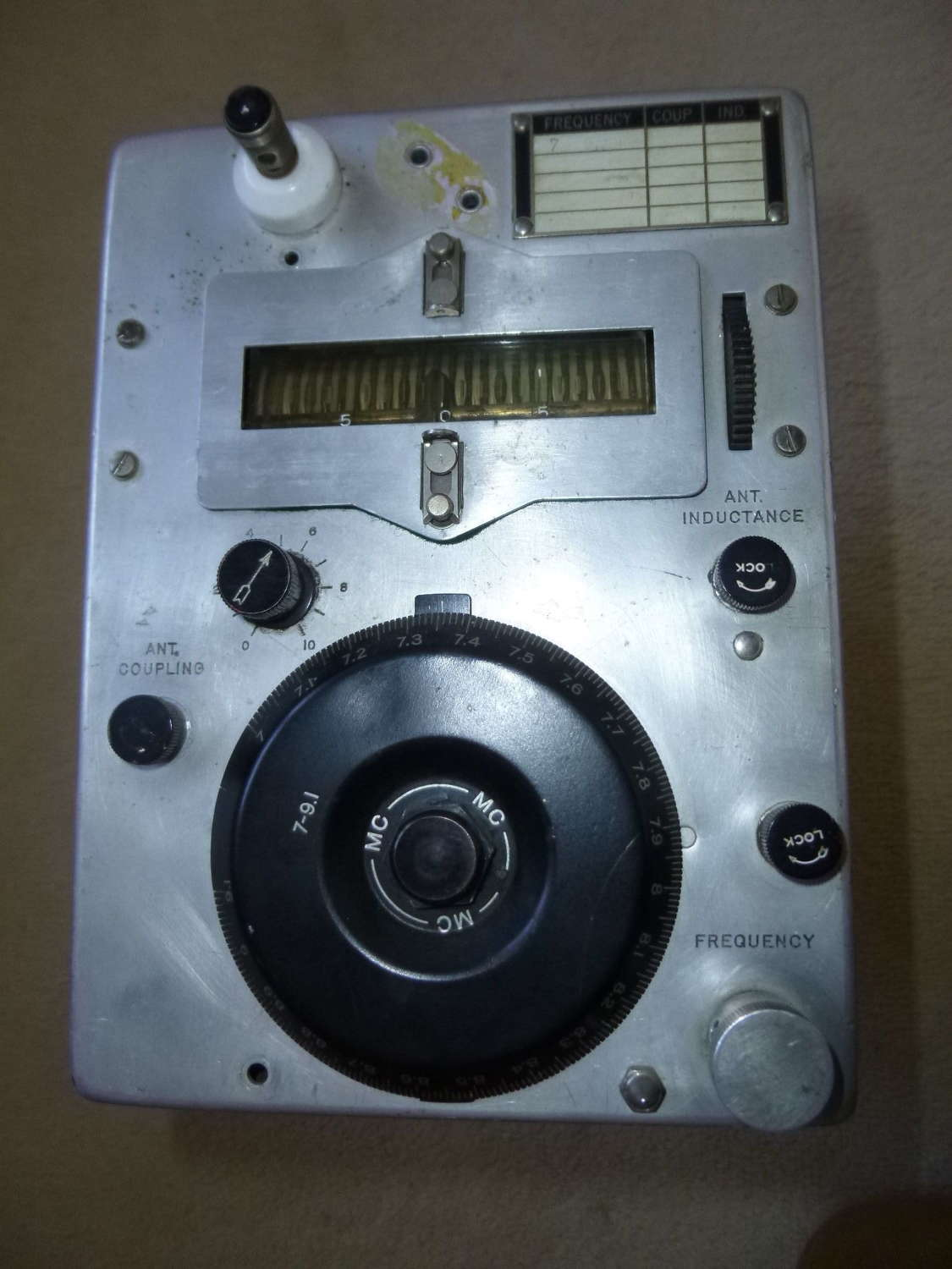 US Air Force command set ARC-5 transmitter
