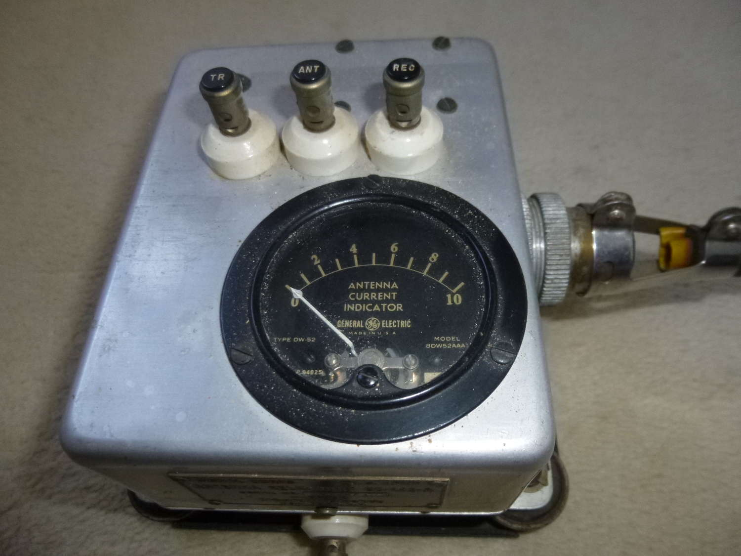 US Air Force BC-442-A Antenna Relay for command set