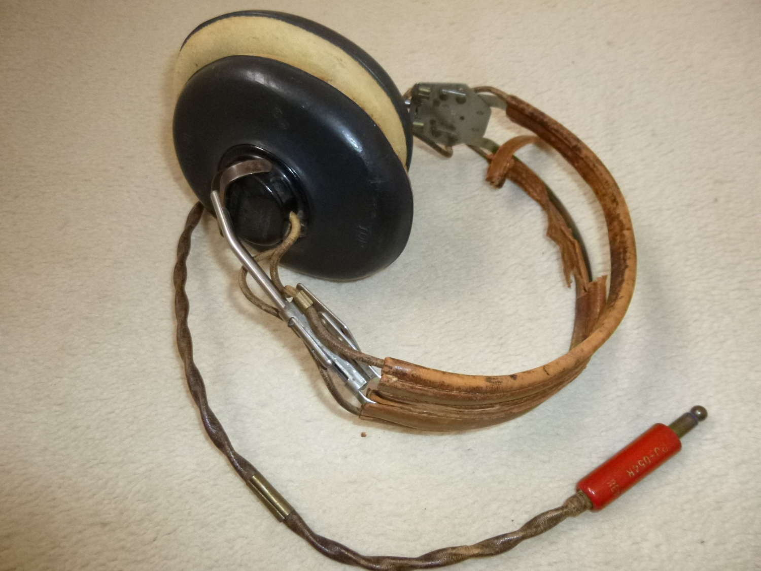 US Air Force H-46 headset