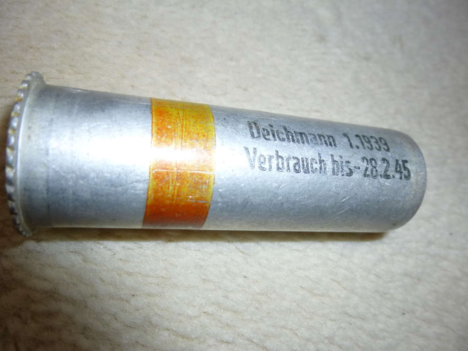 German Wehrmacht/Luftwaffe flare pistol cartridge red