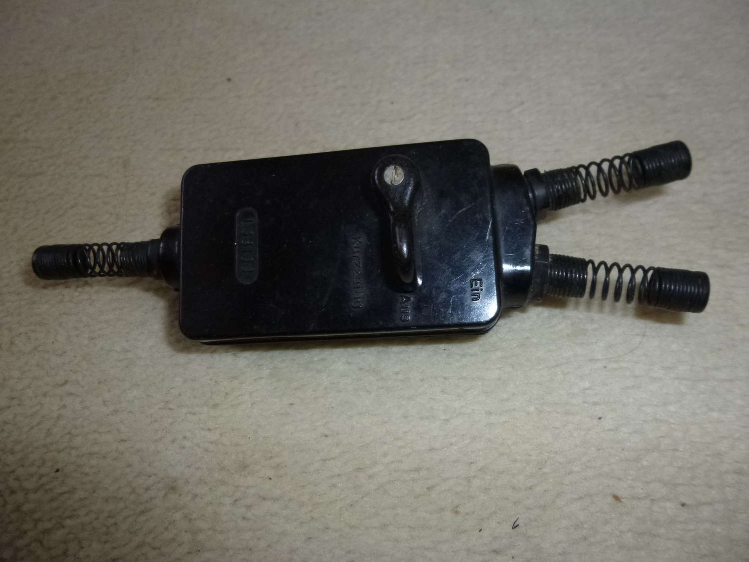 Luftwaffe throat microphone switch box