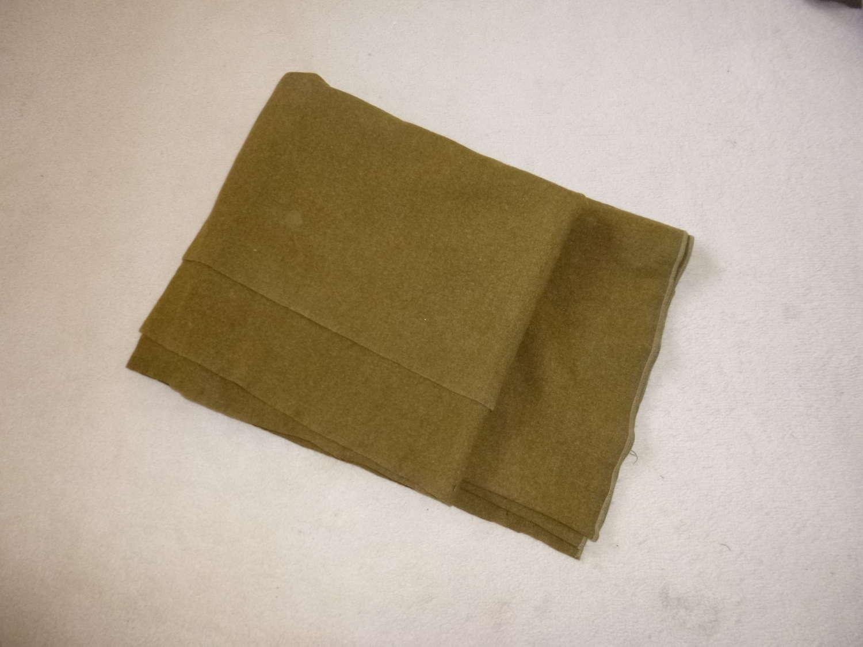 US blanket, unmarked