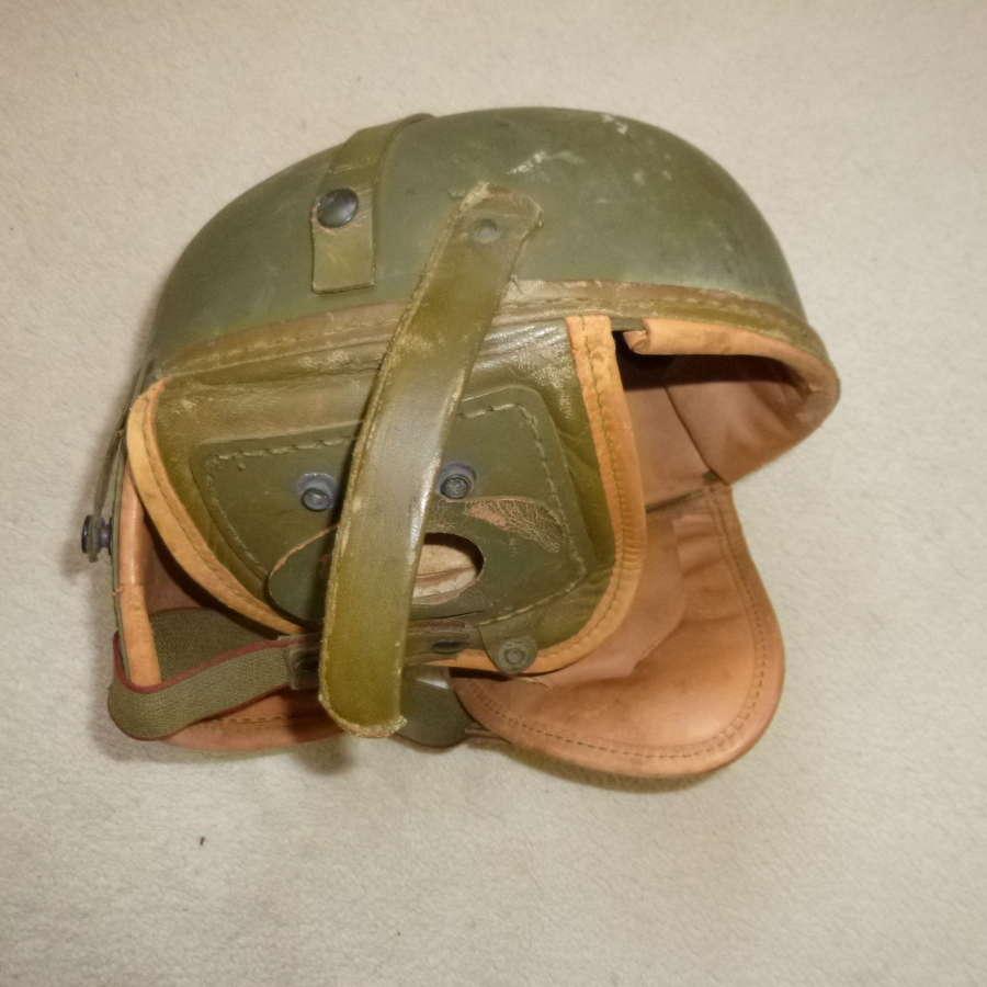 US Army tanker's helmet