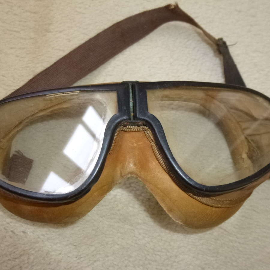 US army M38 tanker's resistall goggles