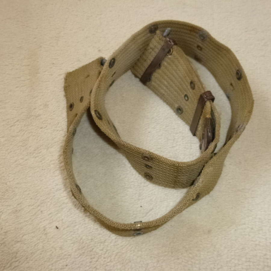 US army pistol belt