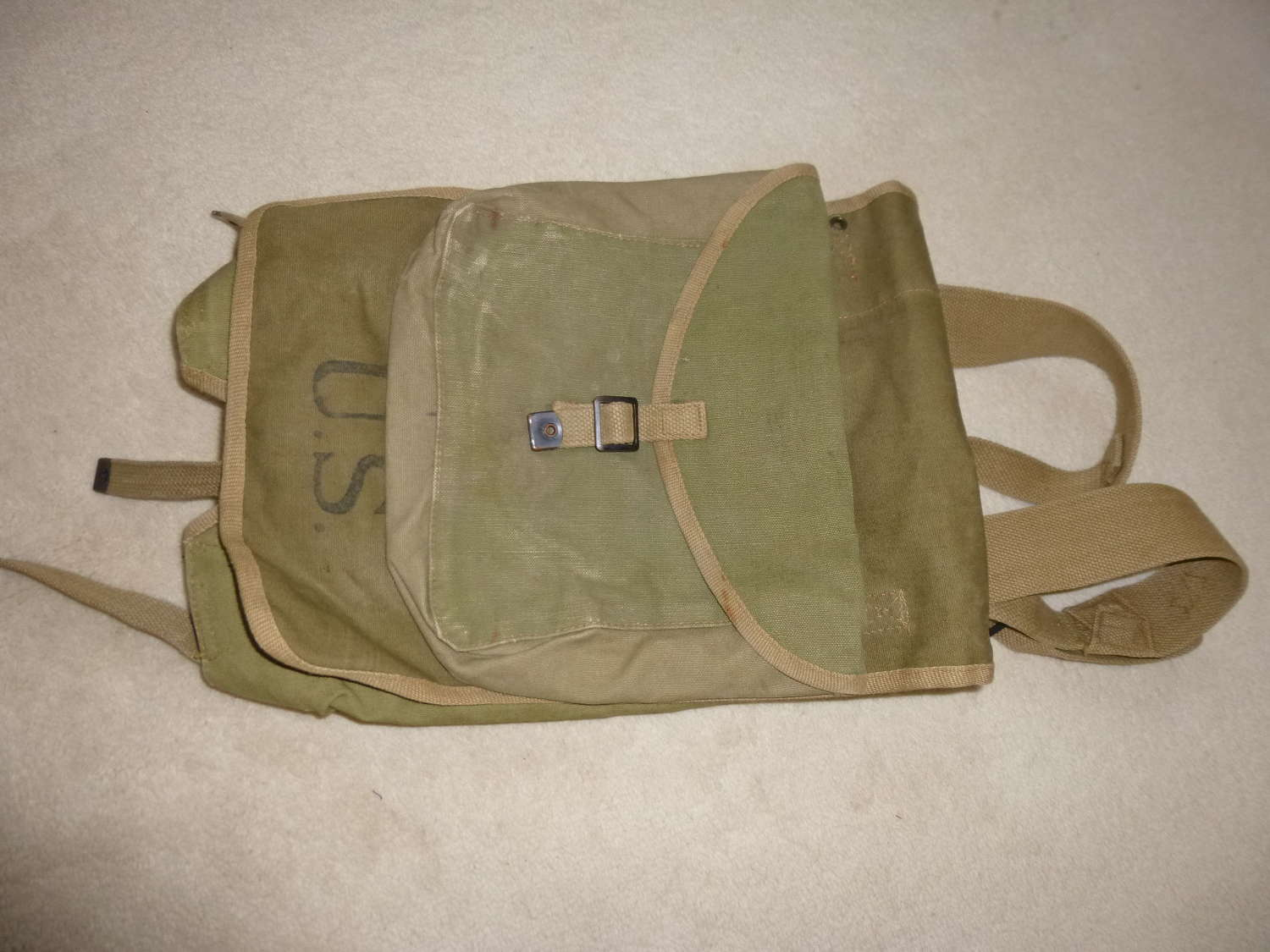 US army M1928 haversack British Made