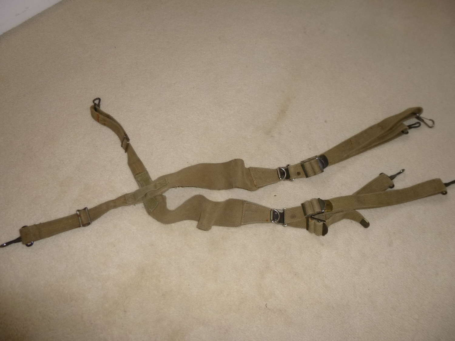 US Army M1928 suspenders