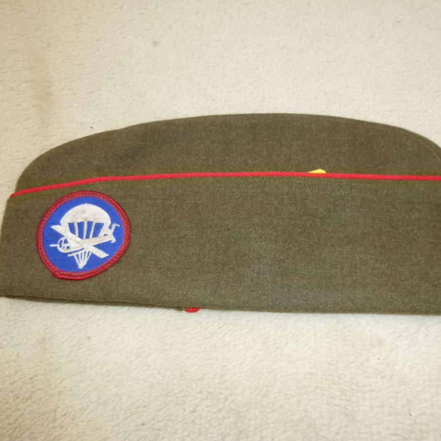 US Army Airborne Artillery EM/NCO overseas cap