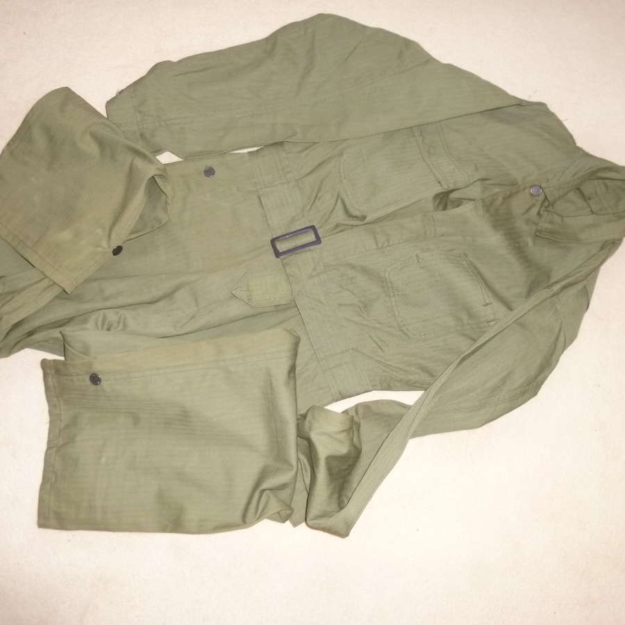 US Army HBT tanker's coveralls