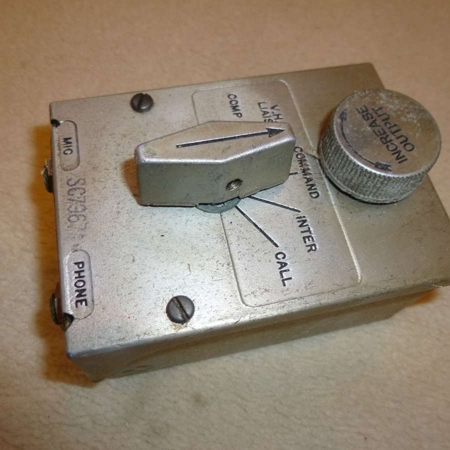 US Air Force BC-1366 intercom box