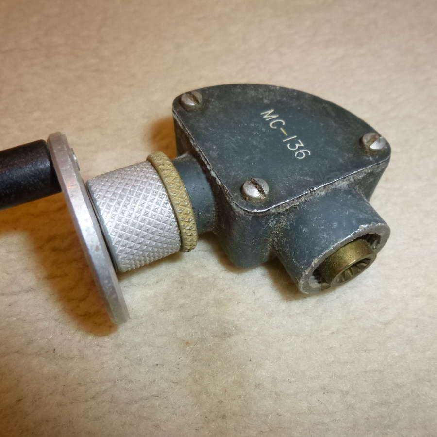 US Air Force ARC-3 tuning crank and elbow