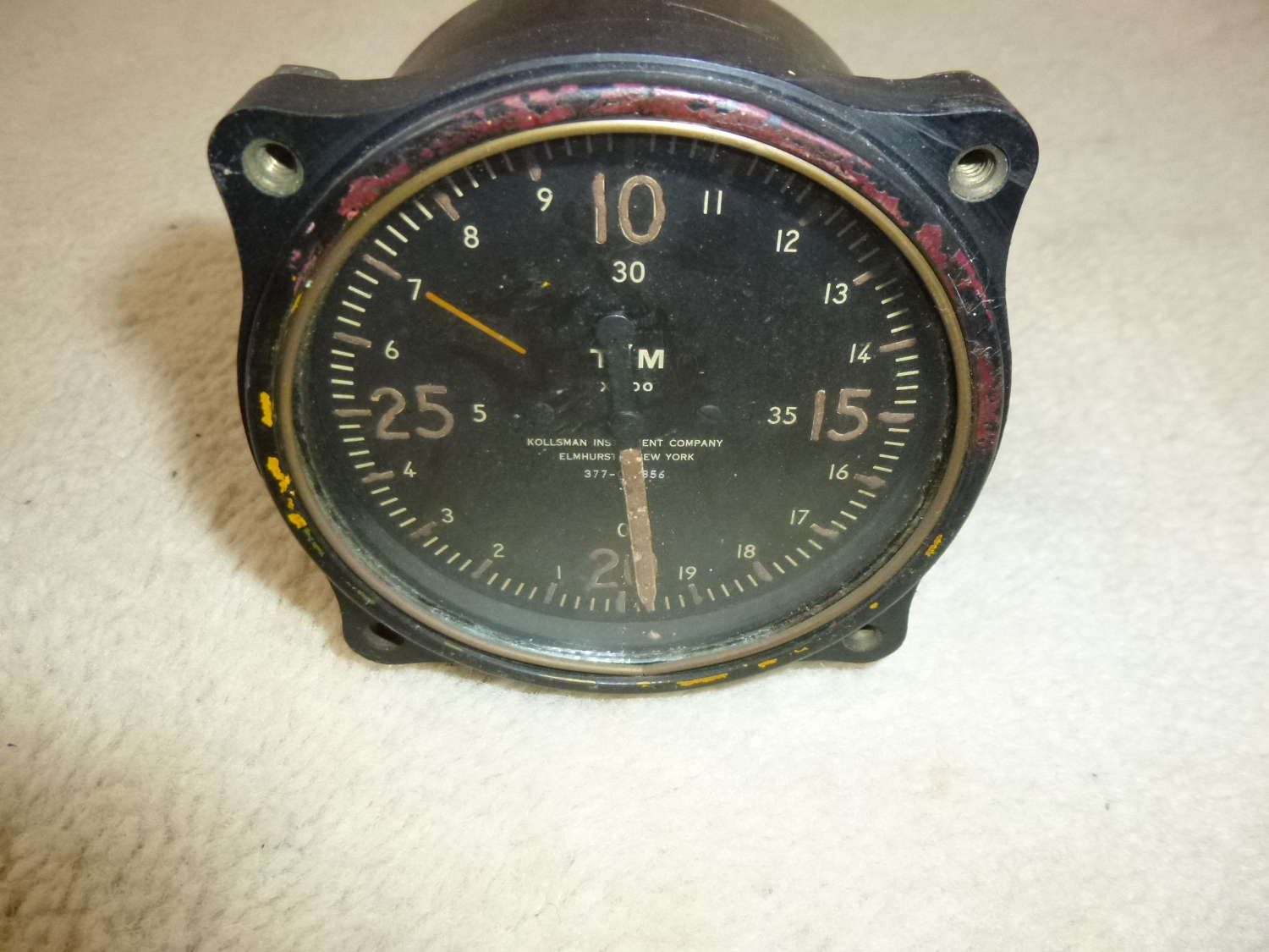 French Aircraft Tachometer