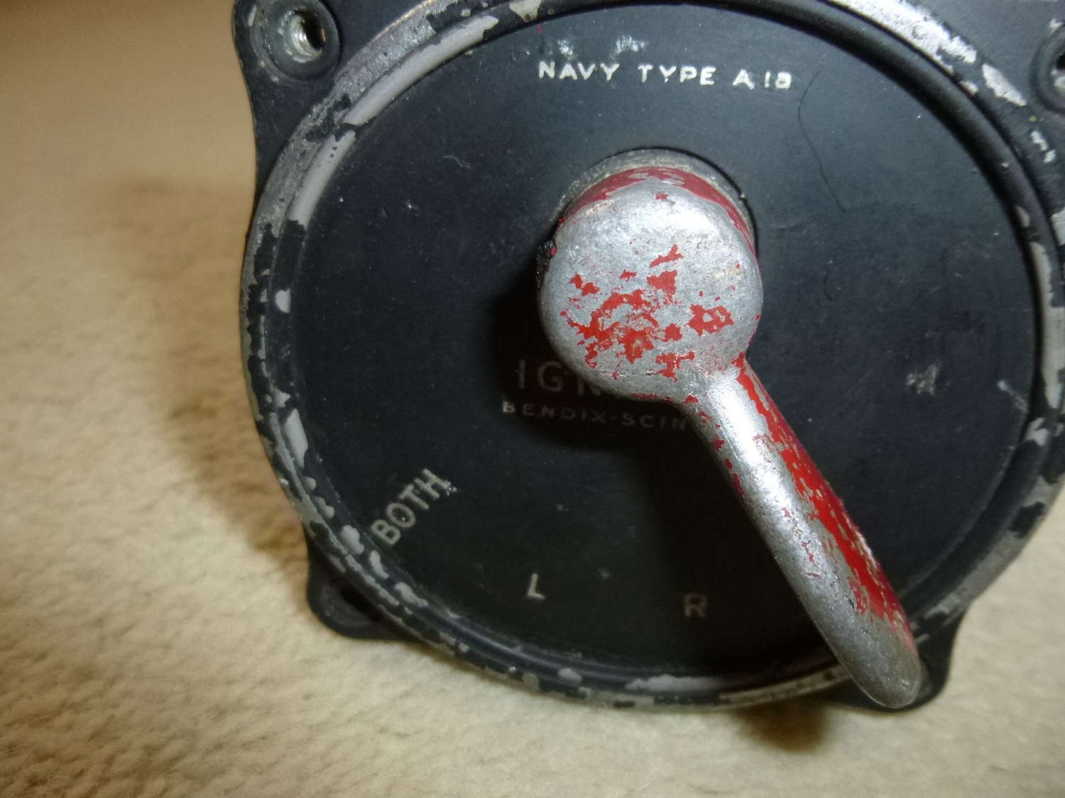 US Air Force Magneto Switch