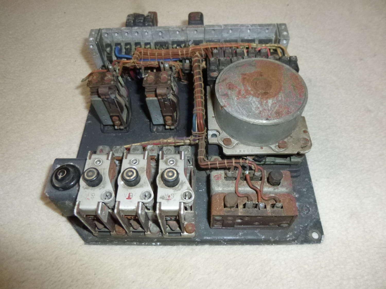 Luftwaffe SVK2 machine gun control box - rare version