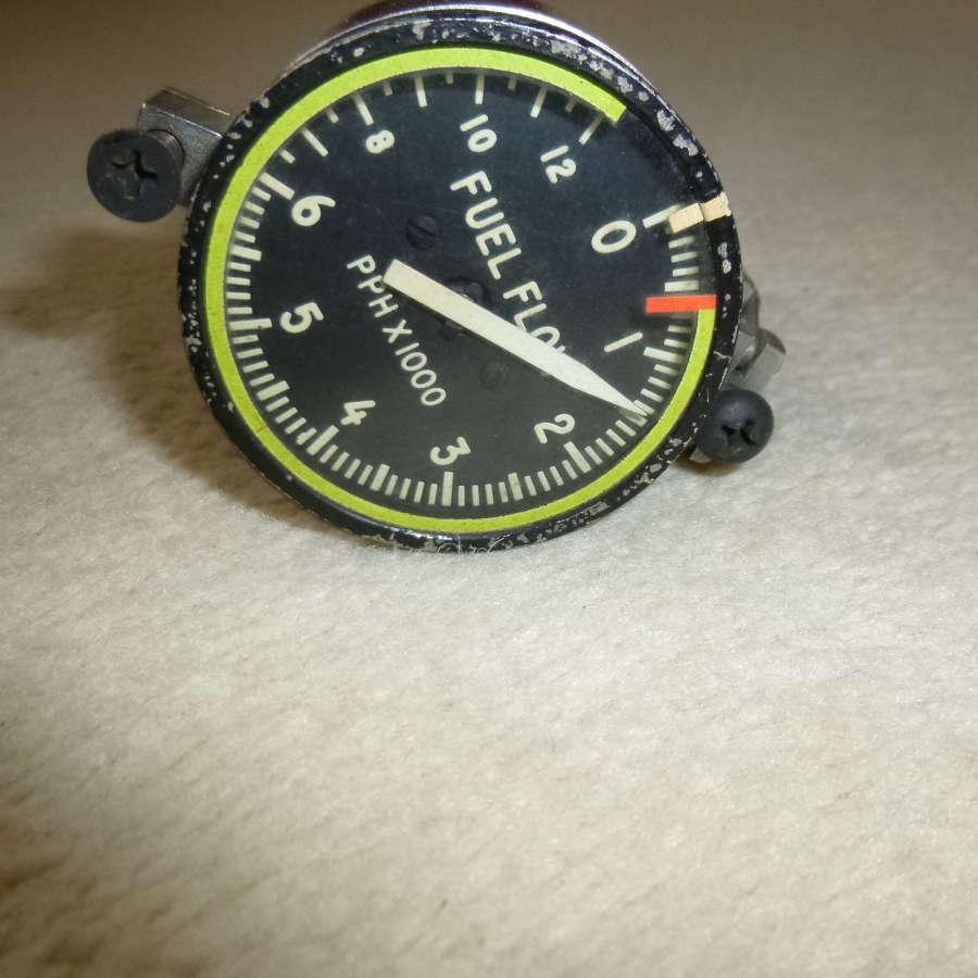 Jet age fuel flow instrument