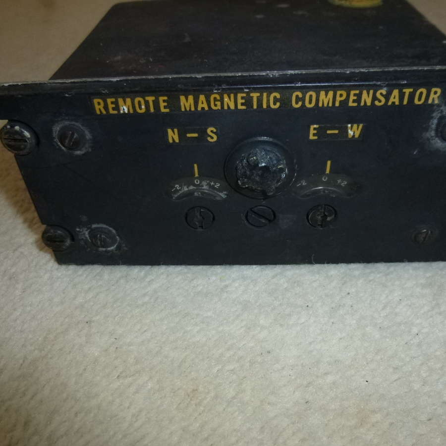 RCAF sperry remote magnetic compensator