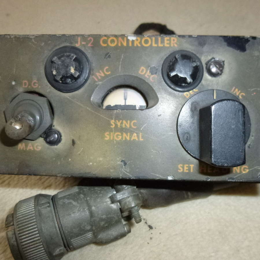 RCAF sperry compass controller
