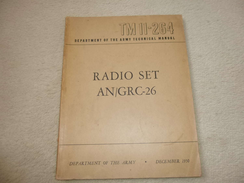 US Army TM11-264 AN/GRC-26 manual