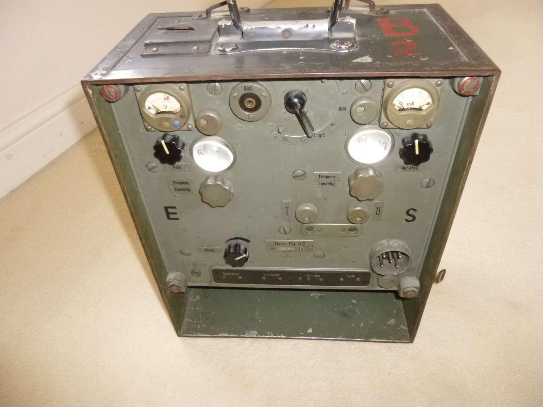 Wehrmacht Torn.Fu.d2 infantry transmitter/receiver