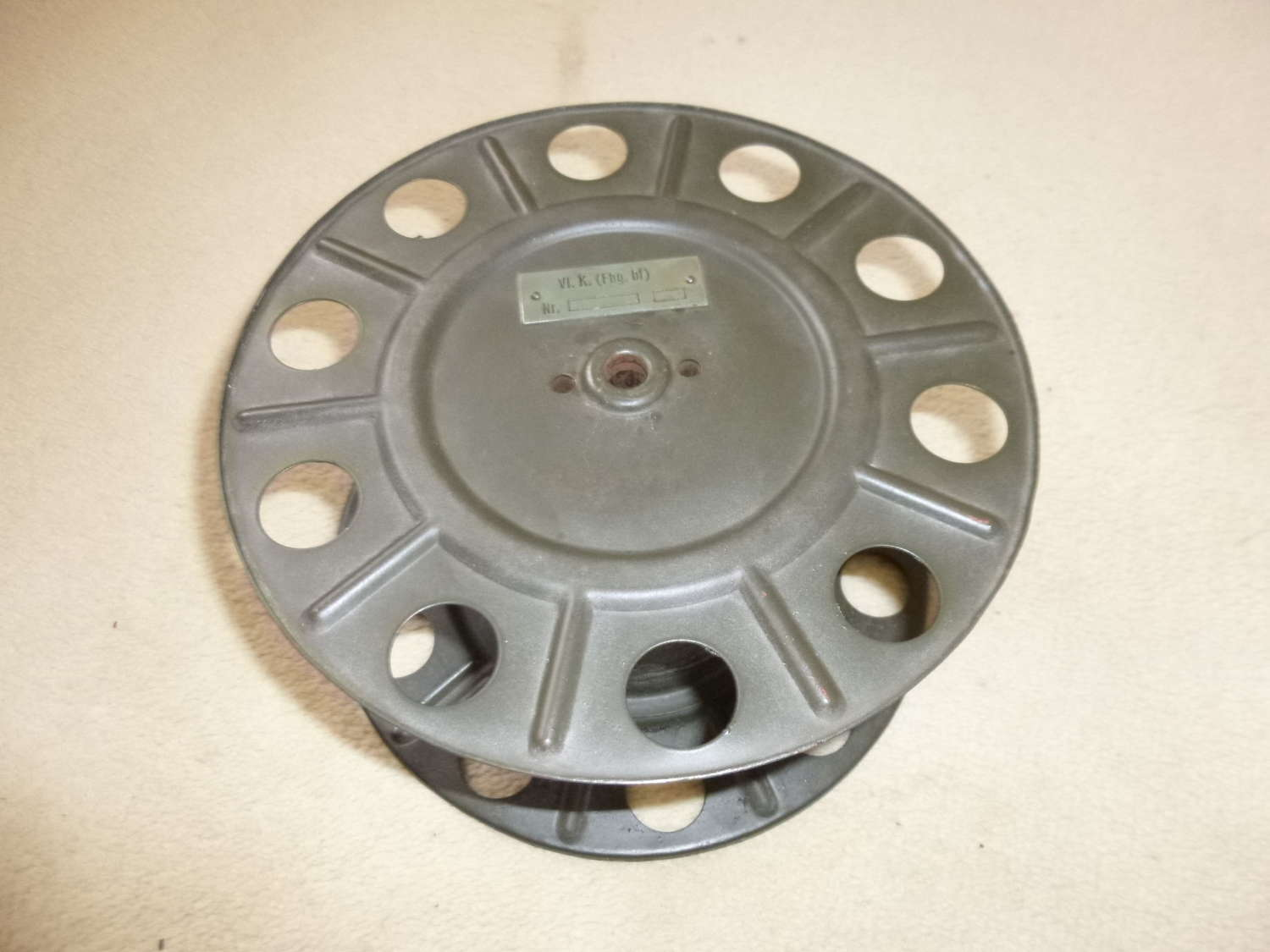 Wehrmacht cable reel for