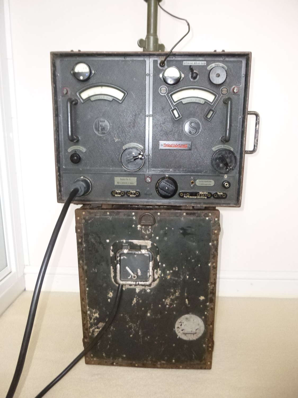 Wehrmacht Torn.Fu.f artillery observers radio set
