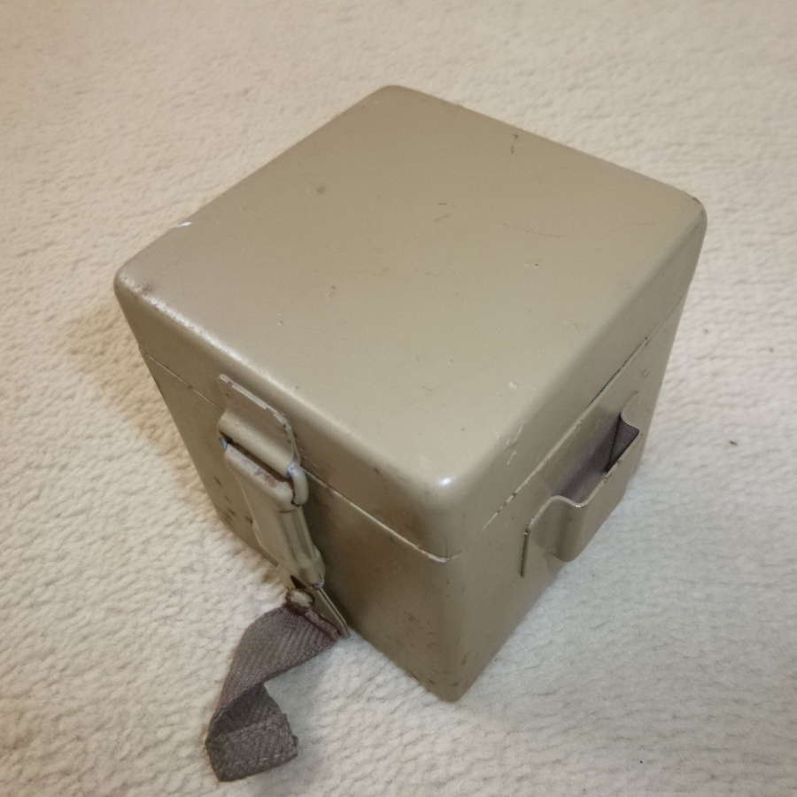 Wehrmacht tan battery box for reticle light