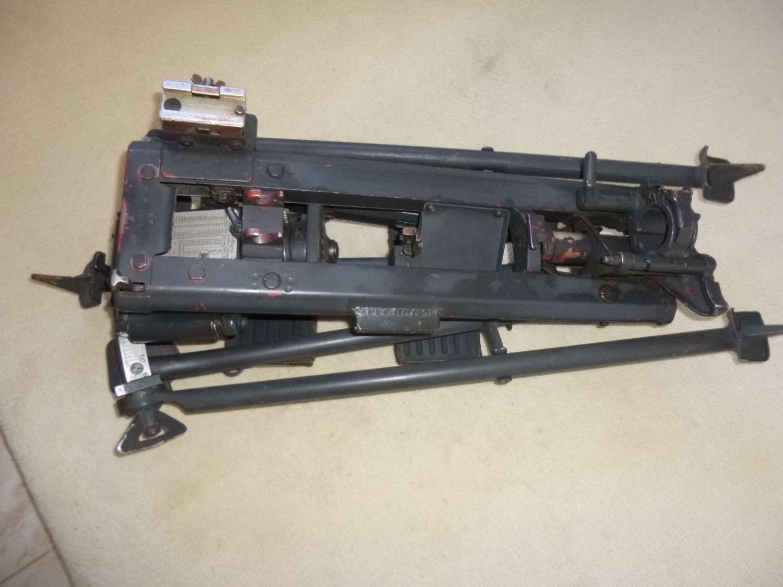 Wehrmacht MG34 heavy machine gun Lafette