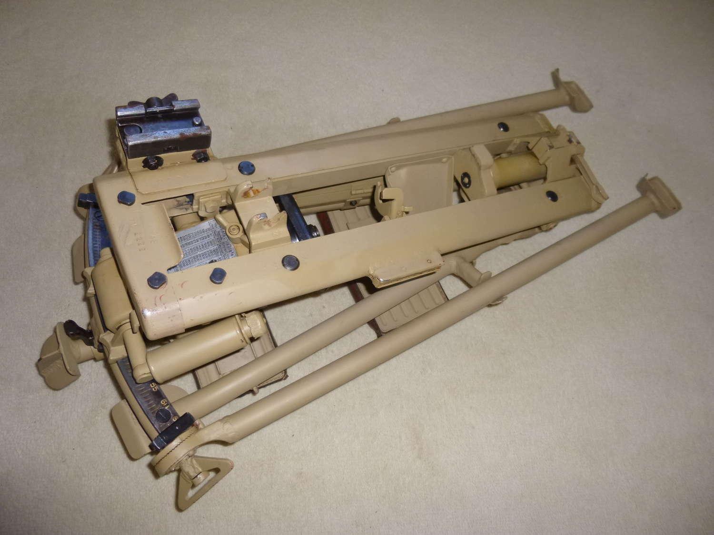 Wehrmacht MG42 heavy machine gun Lafette