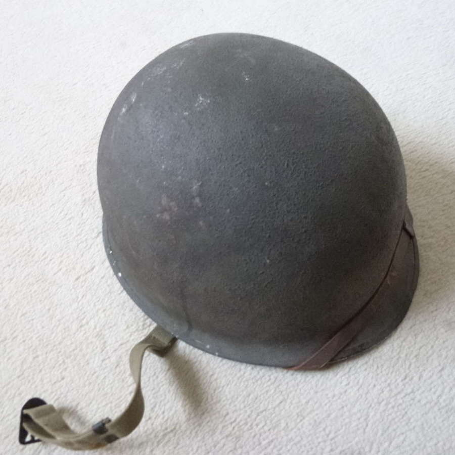 US M1 fixed bale helmet with Westinghouse liner