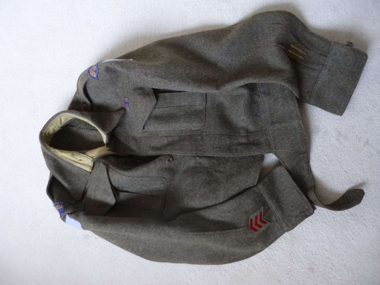 Canadian BD jacket North Nova Scotia Highlanders