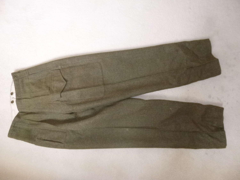 Canadian Battledress trousers