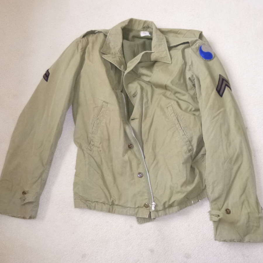US army 29th division M41 Parsons jacket