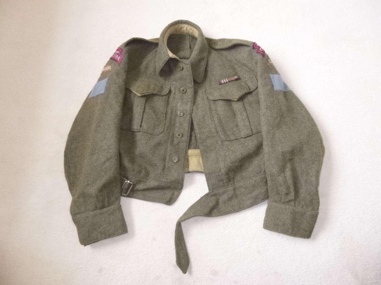 Canadian Regiment de la Chaudiere battle dress jacket