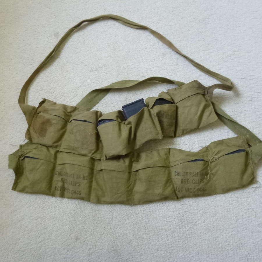 US army garand ammo bandolier