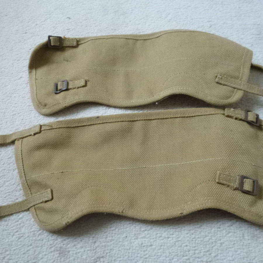 Canadian army gaiters