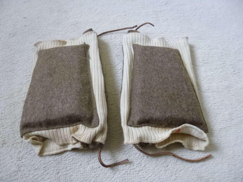 British Army paratrooper knee pads