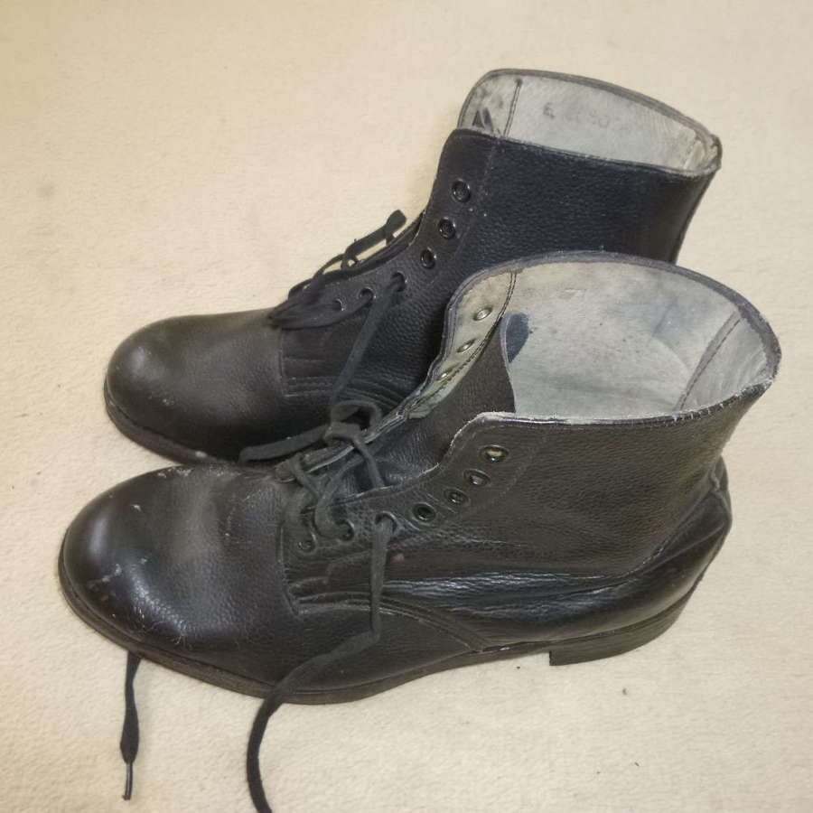 Pair of Canadian ammo boots