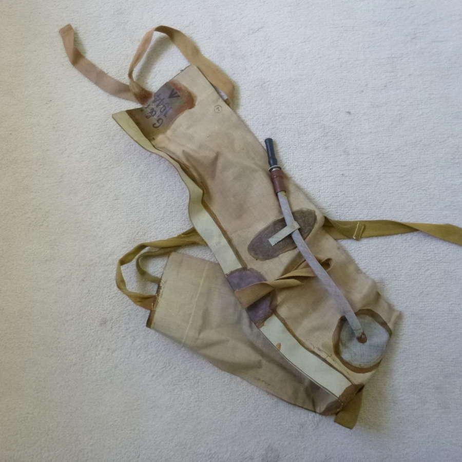 British D-day life belt