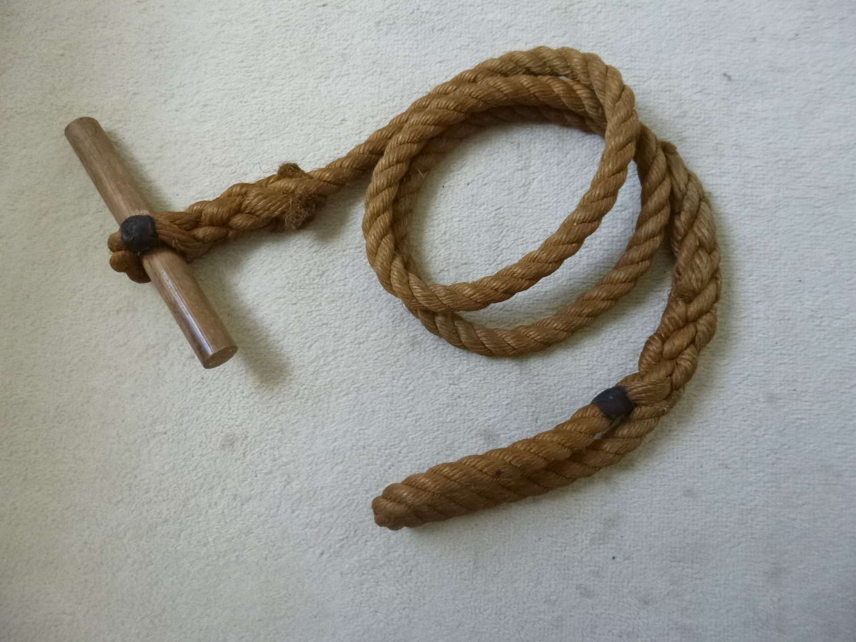 US army toggle rope as used on Utah beach