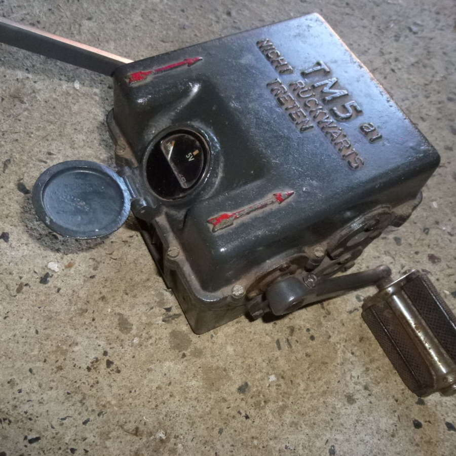 T.M.5.a1 pedal generater